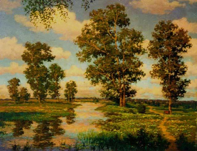 летние пейзажи природы фото